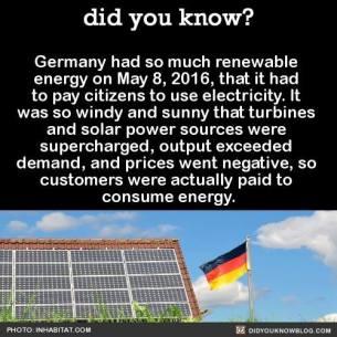 German renewable energy meme