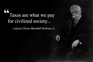 taxes civilized society