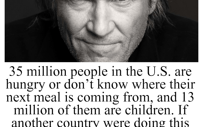 meme claiming 35 million people in the US are hungry