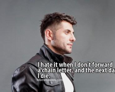 chain letter meme