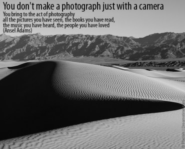 ansel adams photo quote
