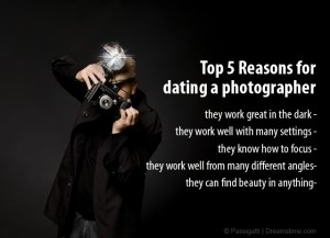 dating a photographer