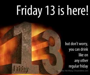 Friday 13 meme
