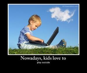 play outside kids