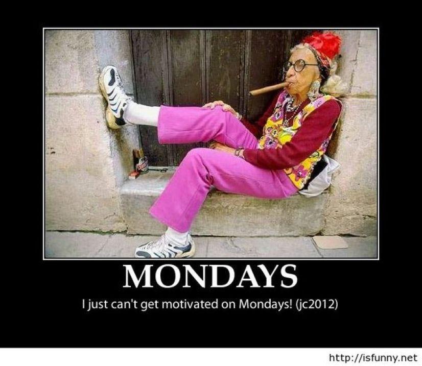 Funny Monday Motivation Meme - Funny PNG