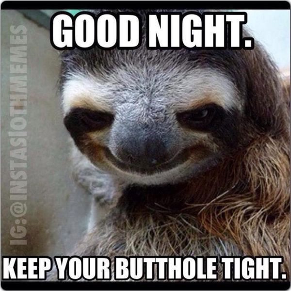 good night meme funny