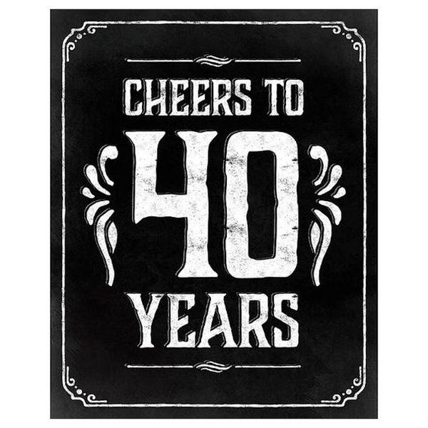 happy 40th birthday quotes