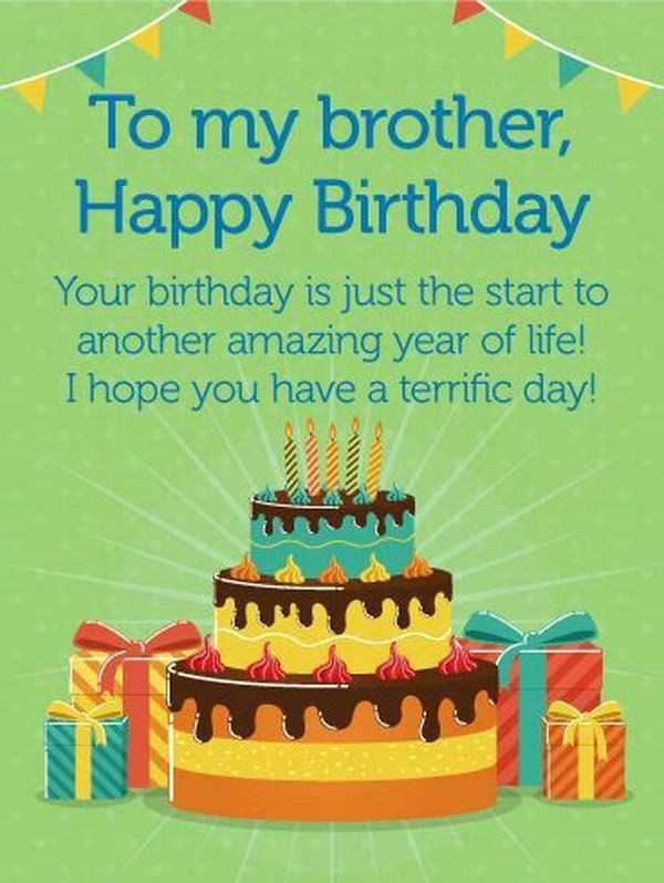 Happy Birthday Brother Wishes Birthday Quotes For Big