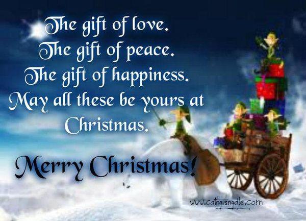christmas phrases and sayings