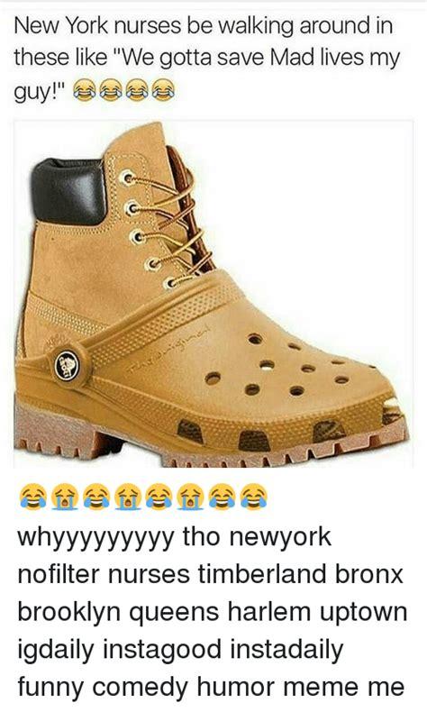 New York Timberlands Meme : timberlands, Timberlands, Memes