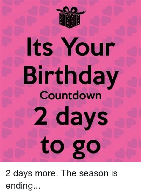 Birthday Countdown Meme : birthday, countdown, Birthday, Countdown, Memes
