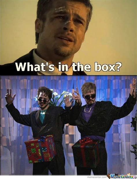 Whats In The Box Meme : whats, What's, Memes