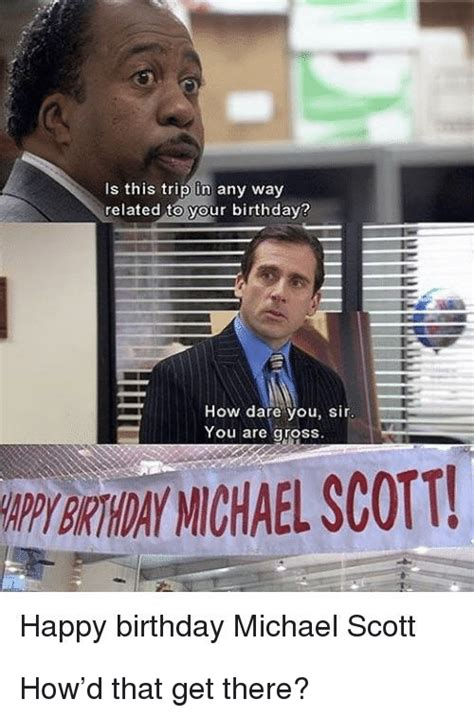 Birthday Meme The Office : birthday, office, Office, Birthday, Memes