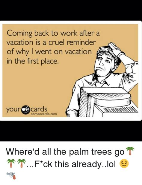 Work Vacation Meme : vacation, After, Vacation, Memes