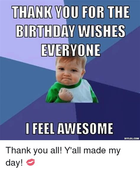 Thanks For The Birthday Wishes Funny : thanks, birthday, wishes, funny, Thank, Birthday, Wishes, Memes