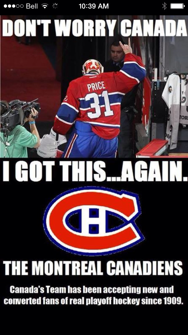 Habs Funny Pics : funny, Montreal, Canadians, Memes