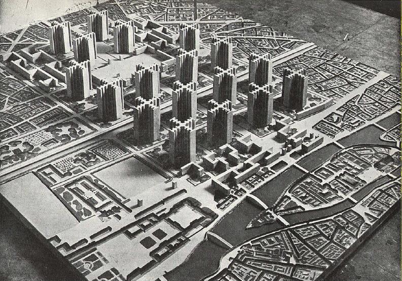 Corbusier_cartesian_skyscrapers