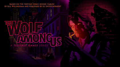 """""""Fables Telltale Logo"""" by http://www.telltalegames.com/thewolfamongus/. Licensed under Fair use of copyrighted material in the context of The Wolf Among Us via Wikipedia - http://en.wikipedia.org/wiki/File:Fables_Telltale_Logo.png#mediaviewer/File:Fables_Telltale_Logo.png"""