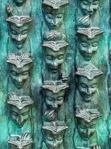 memolivre bruce krebs sculpture