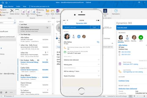 管理者がDynamics 365 App for Outlook アプリを削除する方法