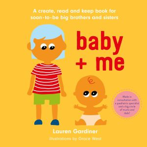 Picture of the front cover of baby + me
