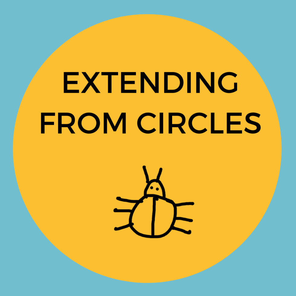 Extending From Circles badge
