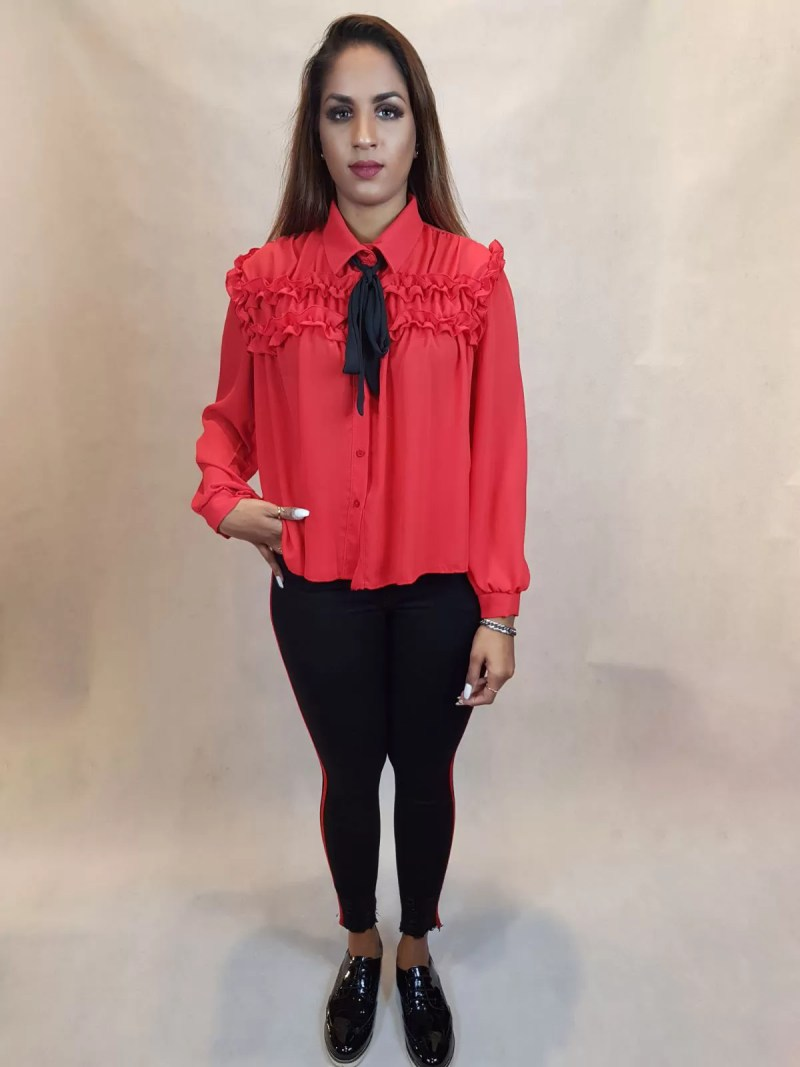 15 1 Ruches Blouse