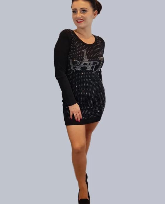 jurk met studs