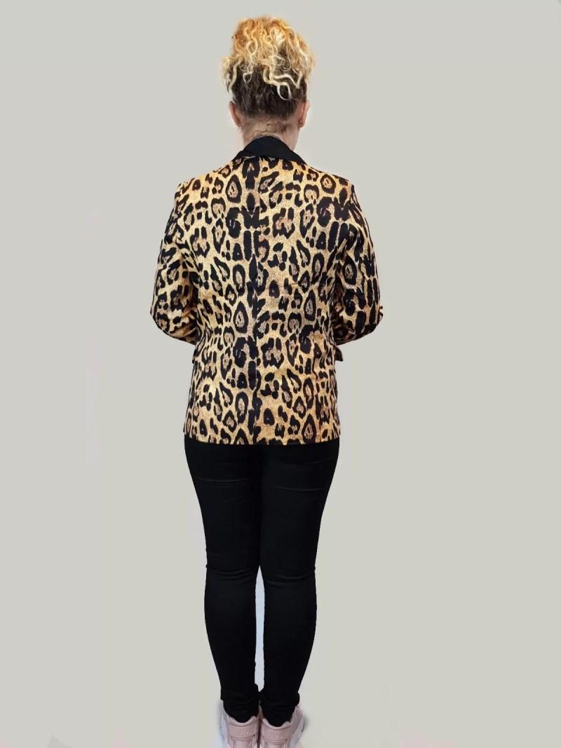 colbert dames met tijger print rug