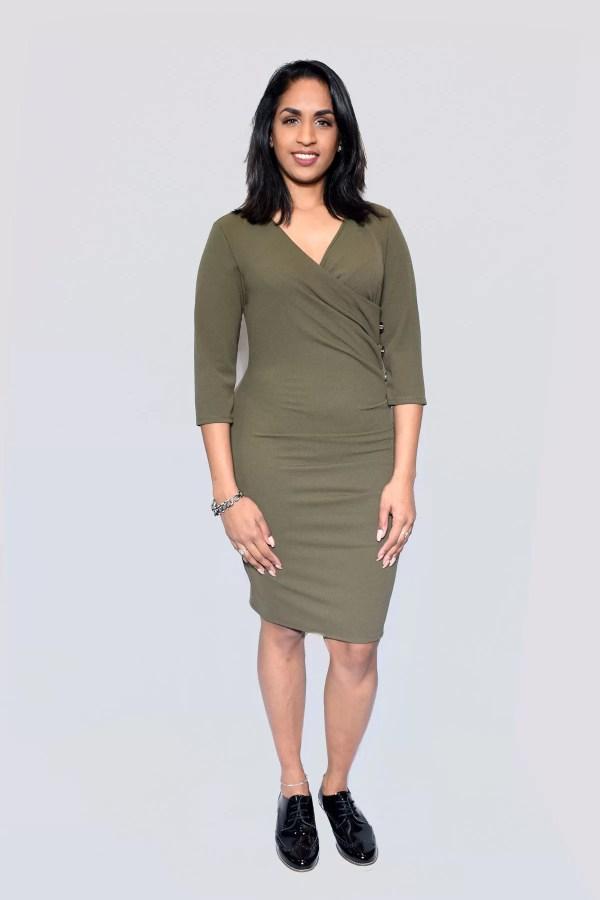 groen jurk dames