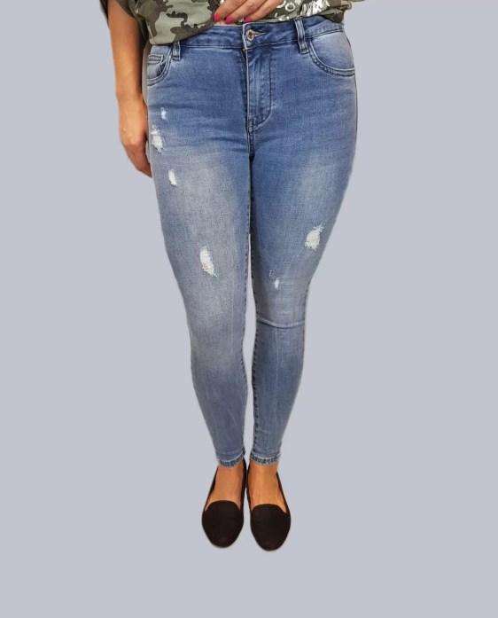 hoge broek/extra strech broek