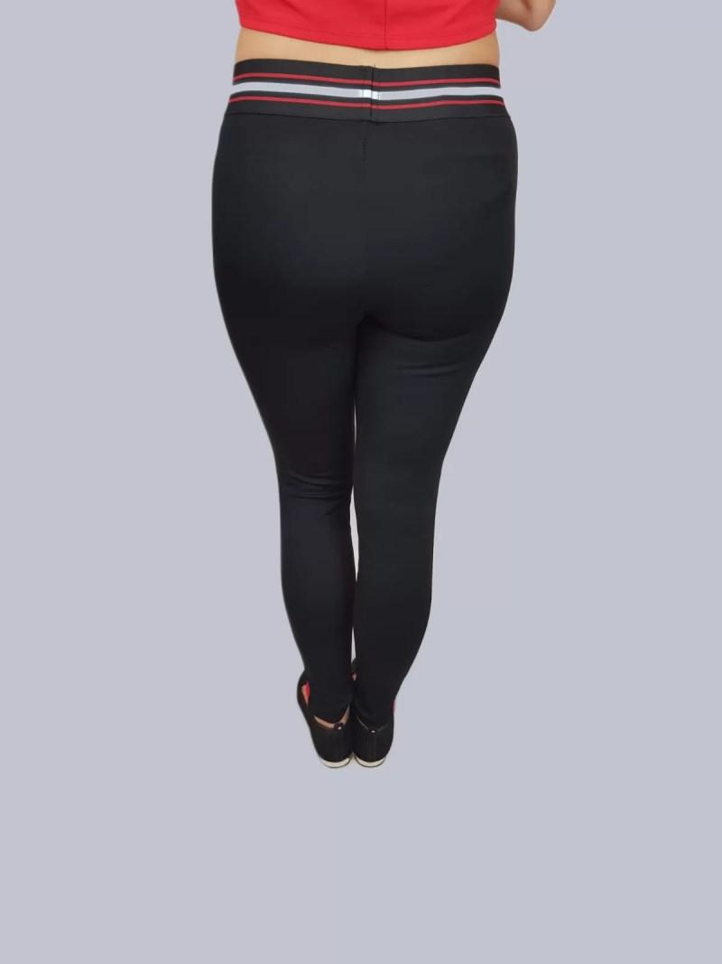 dames legging broek zwart