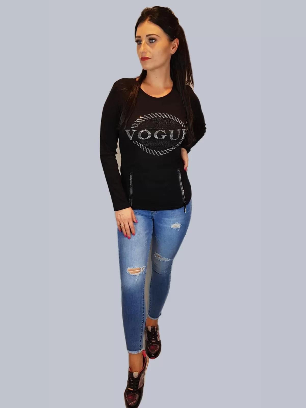 Vogue Trui Kopen.Shirt Met Vogue Er Op