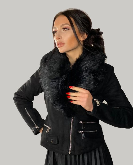 korte-velvet-jacket-zwart
