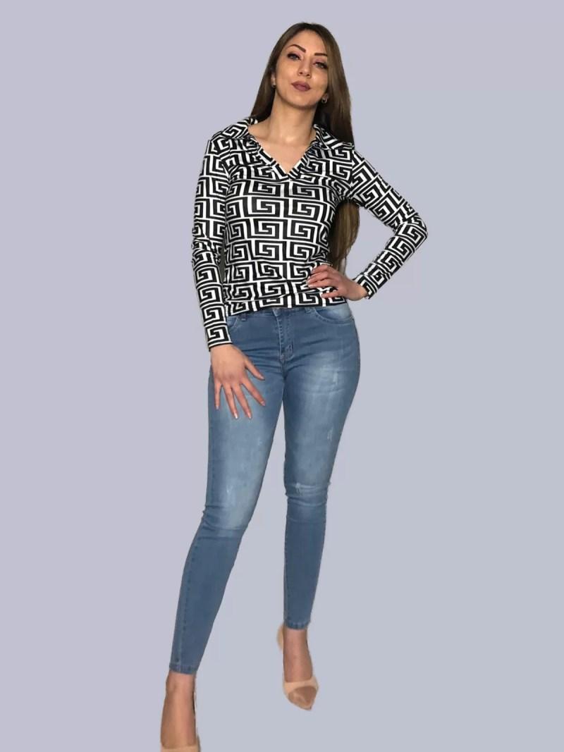 wit-zwart-blouse