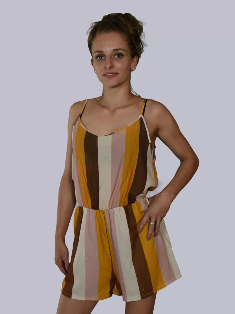 melon beige creme zomer dress