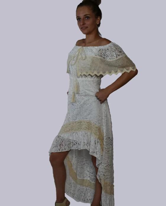 jurk met kant