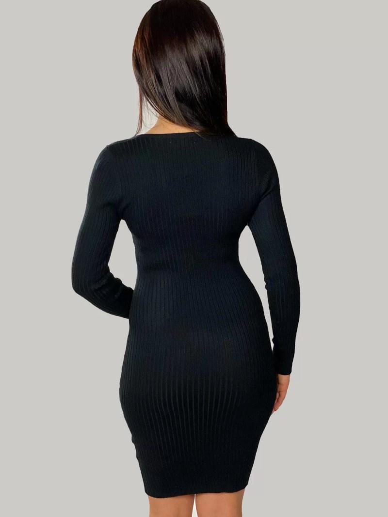 zwart-jurk-terug
