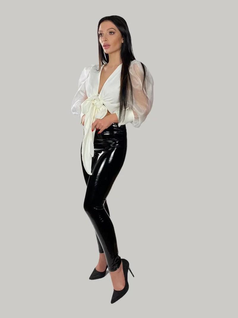zwart-Immitatieleer-legging-broek