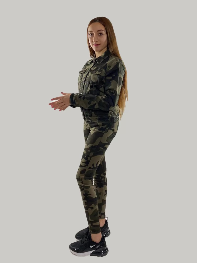 1783 4503 18 Camouflage Korte Jasje