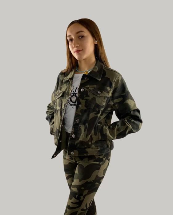Camouflage-Korte-Jasje