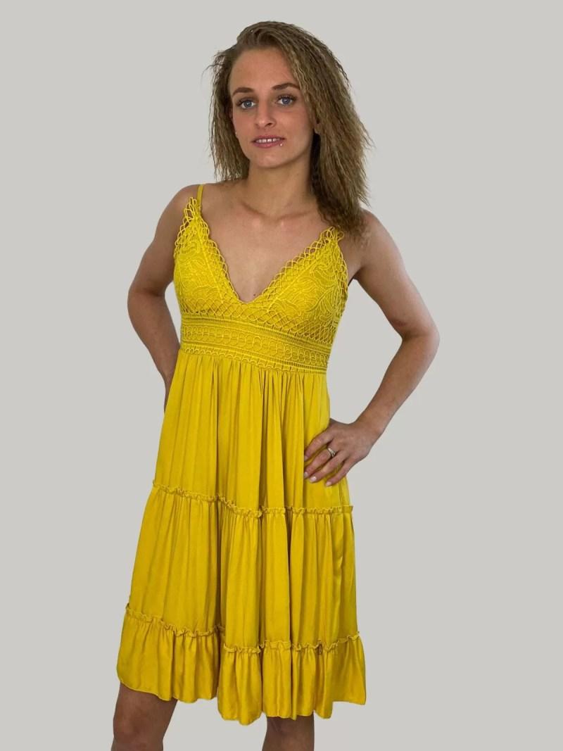 geel-jurk