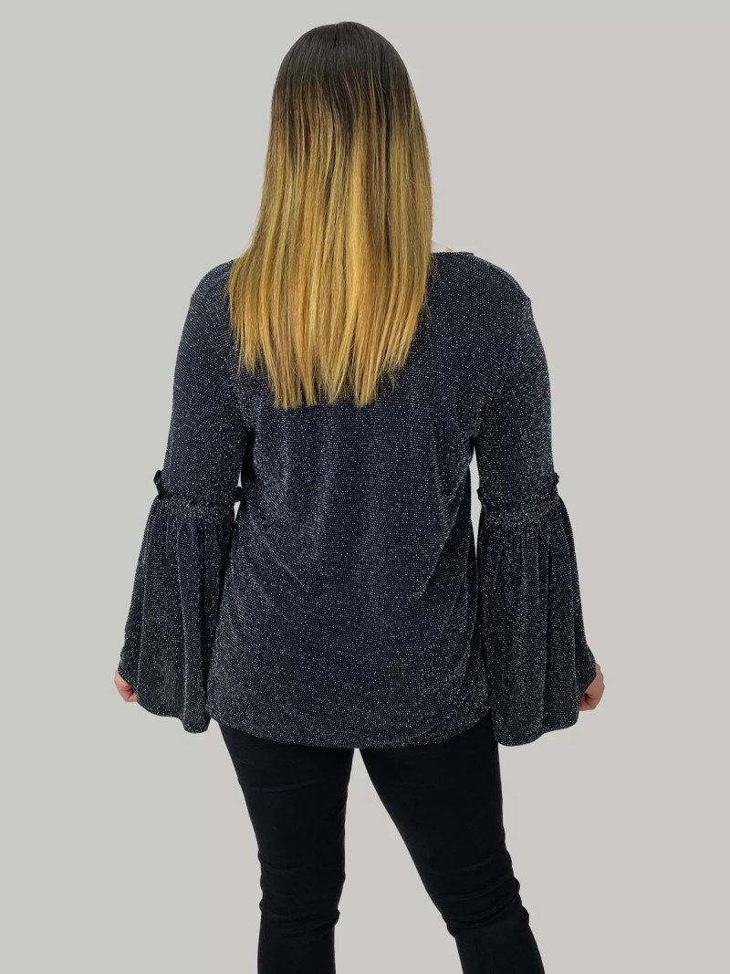 NV 20 404 min Blouse Met Flair Mouwen