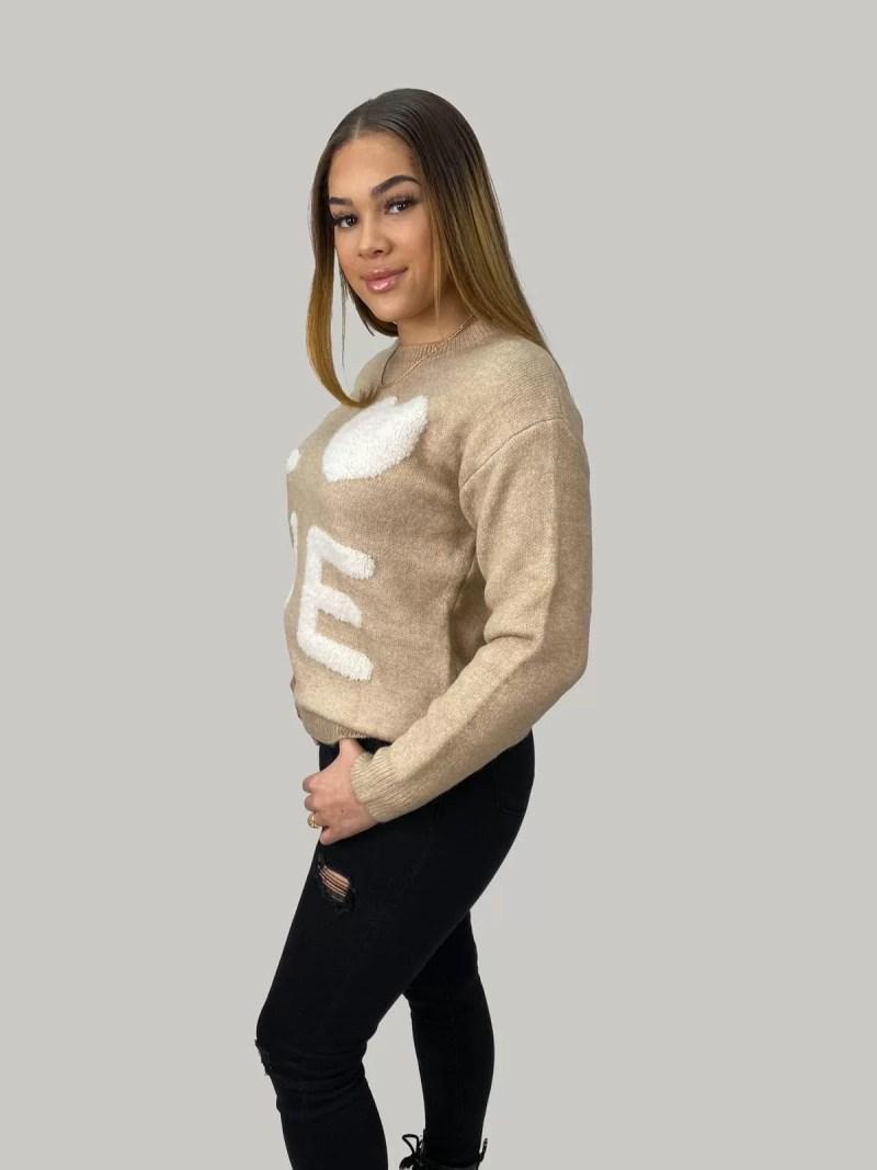 NV 20 461 min Sweater Met Ontwerpen LOVE
