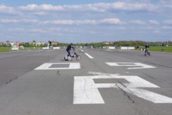 Tempelhof park piste Mémoire pleine