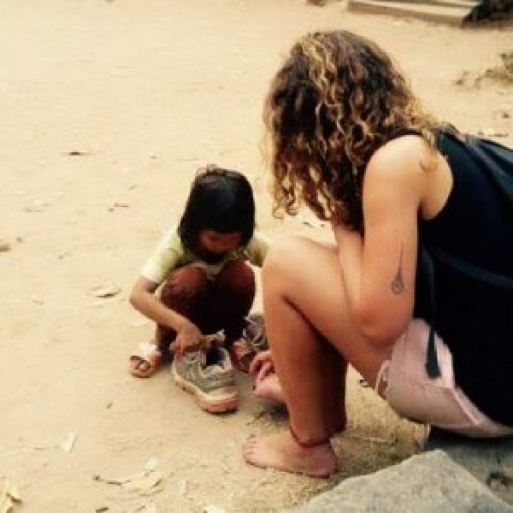 Thaïlande enfant voyage sac à dos