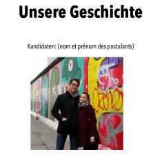 Candidature logement Berlin