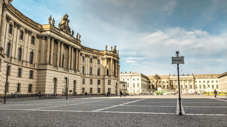 Bebelplatz à Berlin