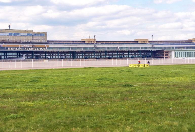 l'aéroport de Tempelhof est maintenant un parc