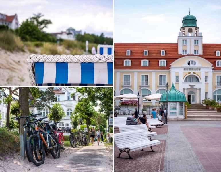 Promenade à Binz, sur l'île de Rügen